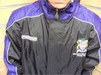 Club Hurricane Black-Purple Rainjacket